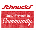 Schnnucks Logo, The Difference in Community.