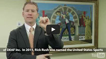 Community Project. Stronger Than Ever video link. Summary of Rick Rush's experience.